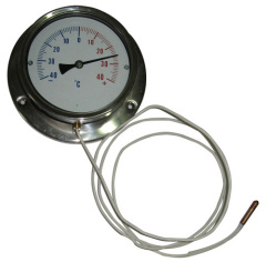 stainless steel pressure thermometer