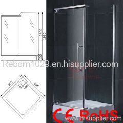 enclosed shower rooms