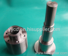 Motor machined parts