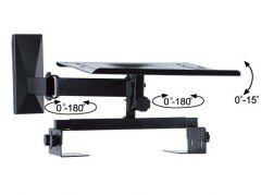 Cantilevel CRT TV stands