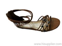 strap cross sandal