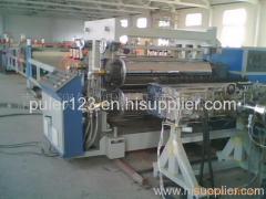plastic construction template production line
