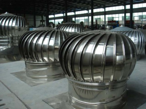 Turbine Roof Ventilators : No power roof turbine ventilator from china manufacturer