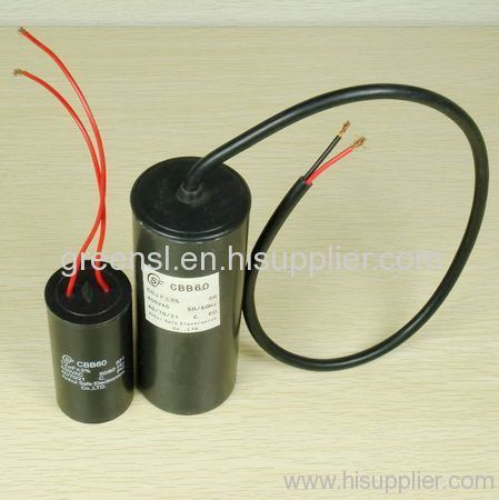 well pump capacitor cbb60 cbb60 manufacturer from china. Black Bedroom Furniture Sets. Home Design Ideas