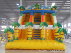 forest inflatable water slide