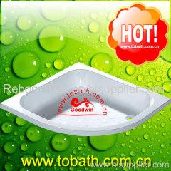 deep shower tray
