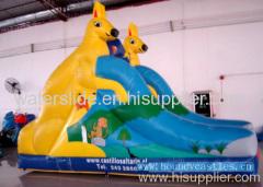 kangaroo pvc slide- commercial grade