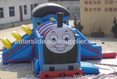smile face bouncy castle