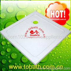 fiberglass shower tray