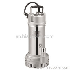 220Voltage 370/550/750/1100/1500w stainless steel submersible pumps flow up to 40m³/h