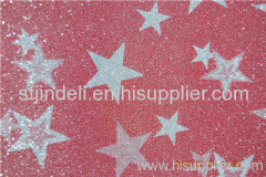 Plastic Packing Material PP Glitter Film for boxes/shoes/garment/bags