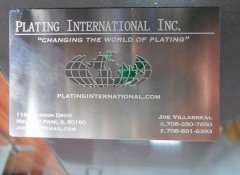 Etching Metal Card