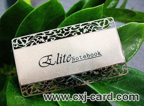 Silver Metal Card ,Silver Card/Stainless Steel Card