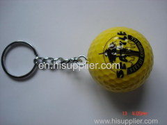 colorful ball/golf ball with keychain