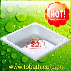 fiberglass shower base