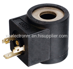 Hydraulic type solenoid coils
