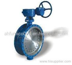 Stainless steel AISI 304 din butterfly valve
