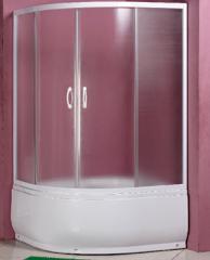 Wide shower room