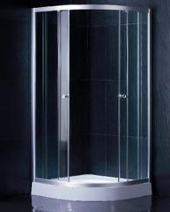 semicircular shower room