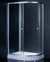 Resistance to slip shower room
