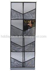 Double Nylon Mesh Literature Brochure Holder Display Stand