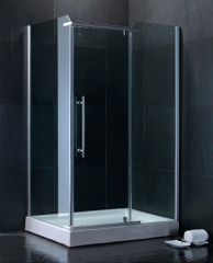 large space shower room