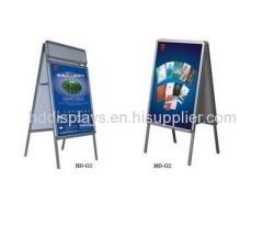 Double Side Poster Display Stand