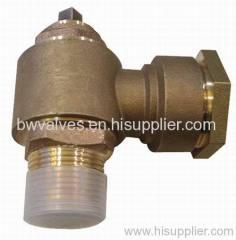 Bronze ferrule valve