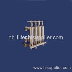 Tubular Back Washing System
