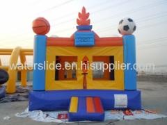 baskball Sport commercial bounce house inflatable