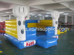 rabbit bouncer, moonwalk inflatable