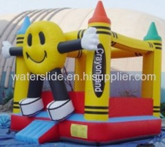 Smiling face bouncers inflatables