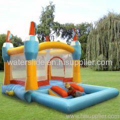 pool bouncer combo bouce house combo