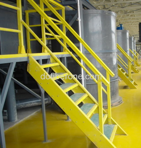 Fiberglass Handrail Systems : Frp handrail from china manufacturer shanghai