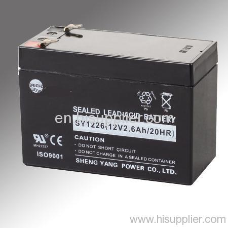 12v 2 6ah lead acid battery from china manufacturer cixi ocean trade co ltd. Black Bedroom Furniture Sets. Home Design Ideas