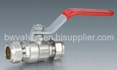 Standard bore brass ball valve