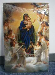 3d Lenticular Christmas Postcard