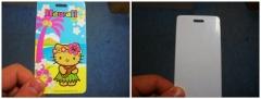 3D lenticular bag tag/3D bag tag