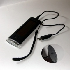 USB charged LED flashlight