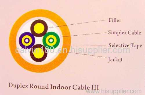 Duples Flat Indoor Cable III