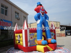 clown mini bounce house inflatable