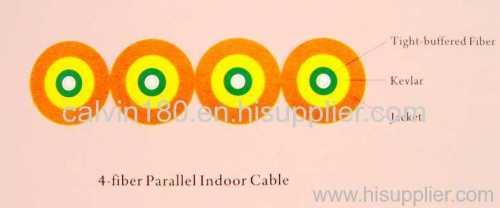 4- Fiber Parallel Indoor Cable