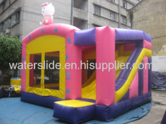hello kit castle combo bouncer house inflatable