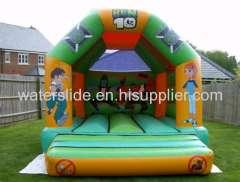 football boy inflatable bouncy castle, bounce house