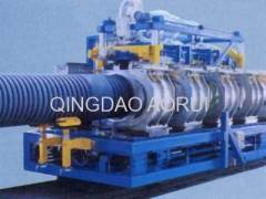 UPVC double-wall corrugated pipe prouction line