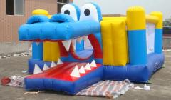 crocodile bouncy castle,bounce castle