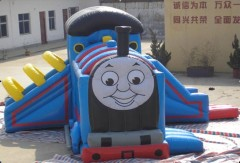 thoms train head inflatable bouncy castle