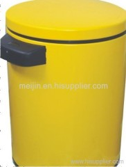 painting dustbin