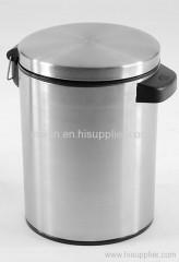 5L stainless steel dustbin