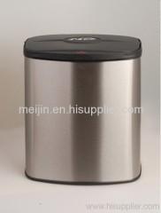 8L stainless steel trash bin